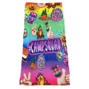Camp Fire Towel - #campsquad