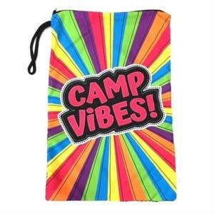Camp Vibes Mesh Sock Bag