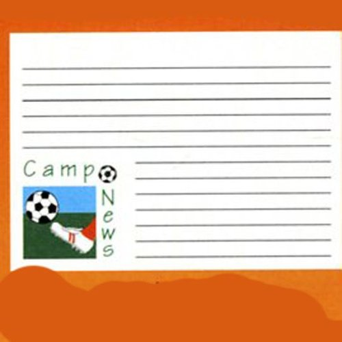 Camp News Soccer Notecards