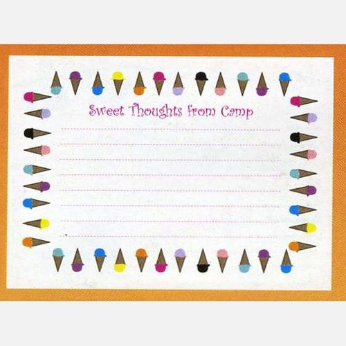 Sweet Thoughts from Camp Notecards