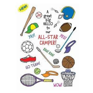 All Star Camper Card
