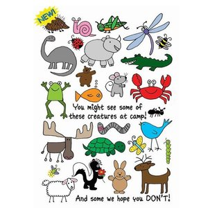 Animal Word Search Card