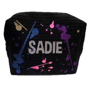 Splatter Glitter Cosmetic Bag
