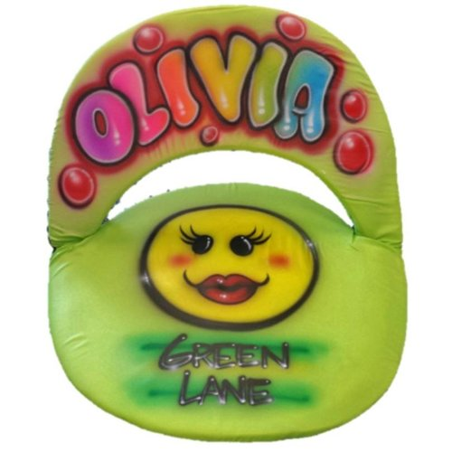 Lovey Smiley Airbrushed Ground Chair