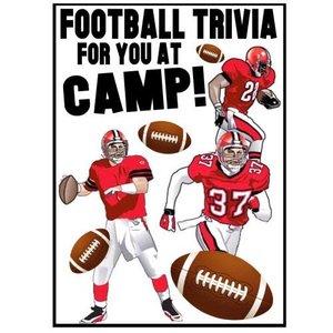 Football Trivia Card