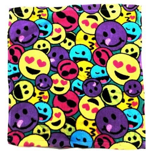 Rainbow Emoji Washcloth Set