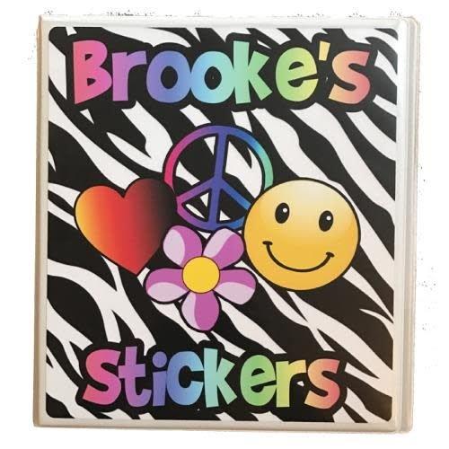 Zebra Sticker Book