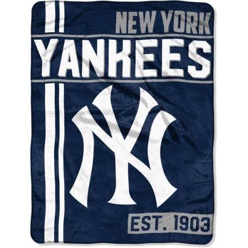 NY Yankees Team Throw Blanket