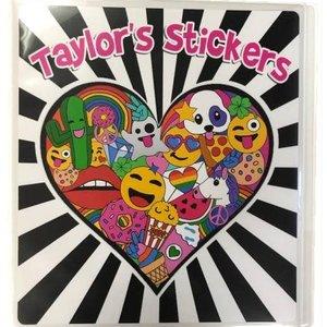 Full Heart Sticker Book