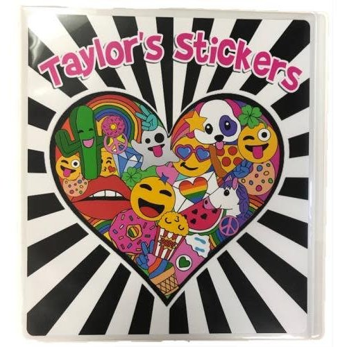 Full Heart Sticker Book