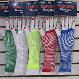 Color War Long Fishnet Gloves