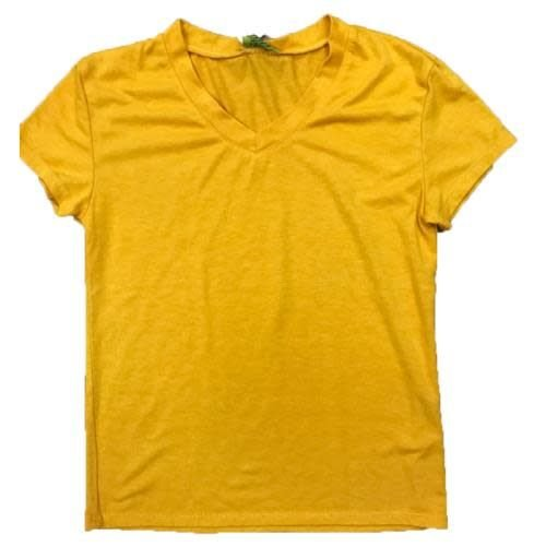 Gold Firehouse V-Neck T-Shirt