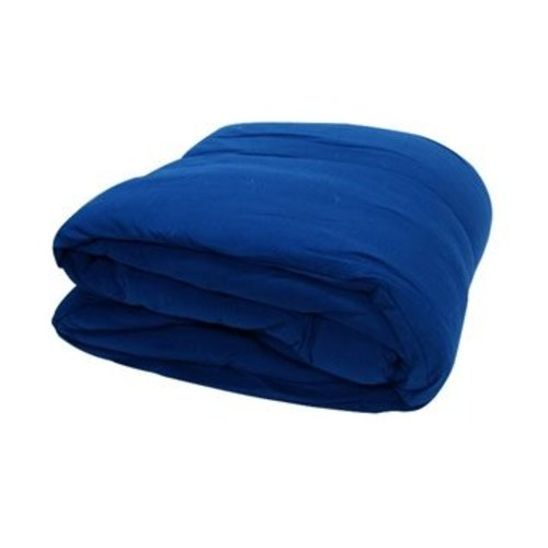 Royal Blue Jersey Comforter