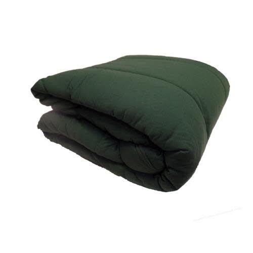 Hunter Green Jersey Comforter