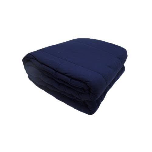 Navy Jersey Comforter