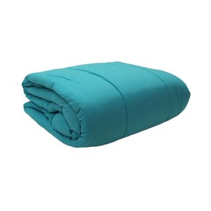 Turquoise Jersey Comforter