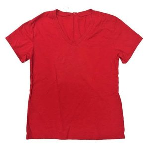 Red Firehouse V-Neck T-Shirt