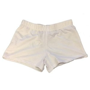 White Firehouse Shorts