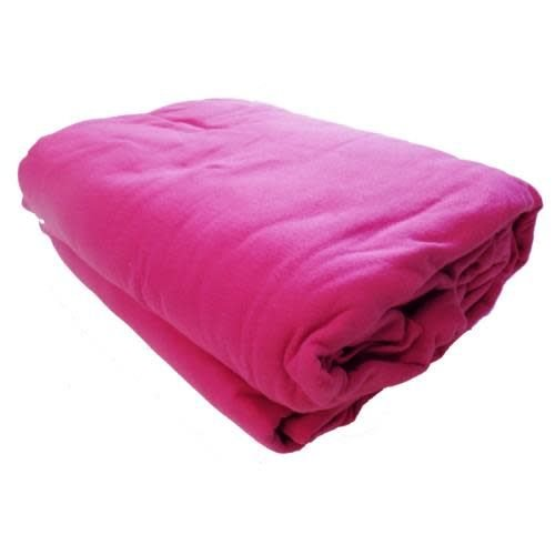 Hot Pink 3-Piece Jersey Sheet Set