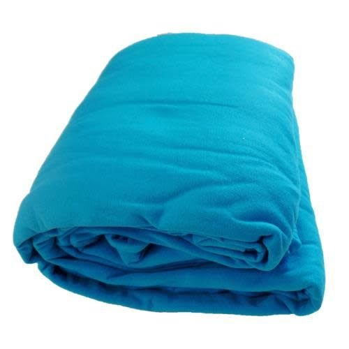 Turquoise Jersey 3-Piece Sheet Set