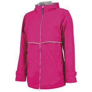 Hot Pink New Englander Rain Jacket