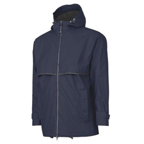 True Navy/Grey New Englander Rain Jacket