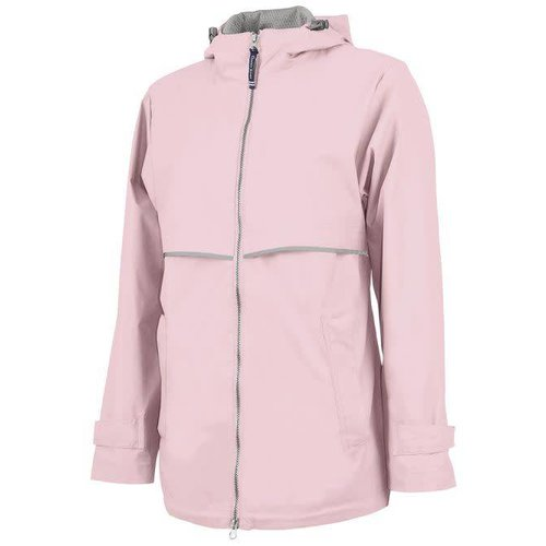 Pink New Englander Rain Jacket