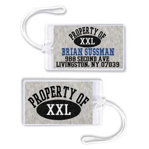Property Of Luggage Tag