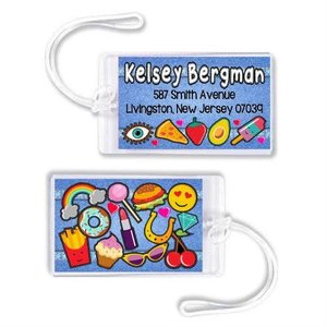 Patches Luggage Tag