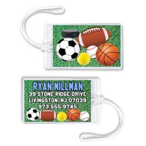 All Sports Luggage Tag