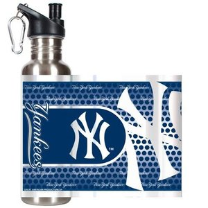 NY Yankees Steel Water Bottle