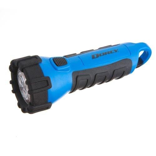 Blue Floating LED Flashlight