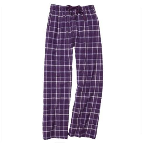 Purple Sparkle Flannel Pants