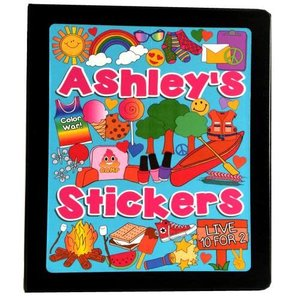 Best of Camp Sticker Book