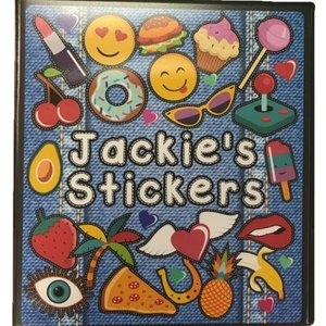 Denim Patches Deluxe Sticker Book