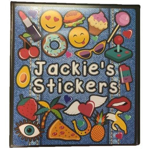 Denim Patches Deluxe Sticker Book