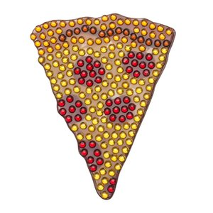 Pizza StickerBean