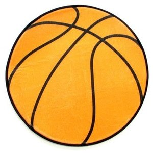 Round Basketball Mat