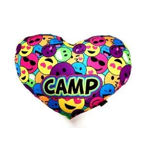 Emoji Heart Pillow