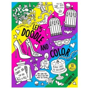 Let's Doodle Coloring Book