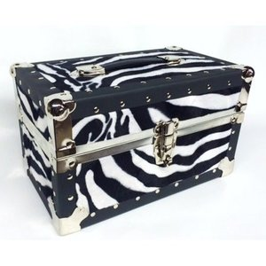 Animal Print Fuzzy Mini Trunk