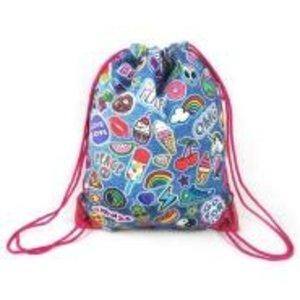 Denim Patch Sling Bag