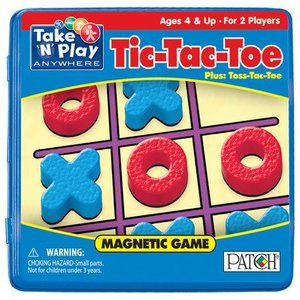 Magnetic Tic-Tac-Toe