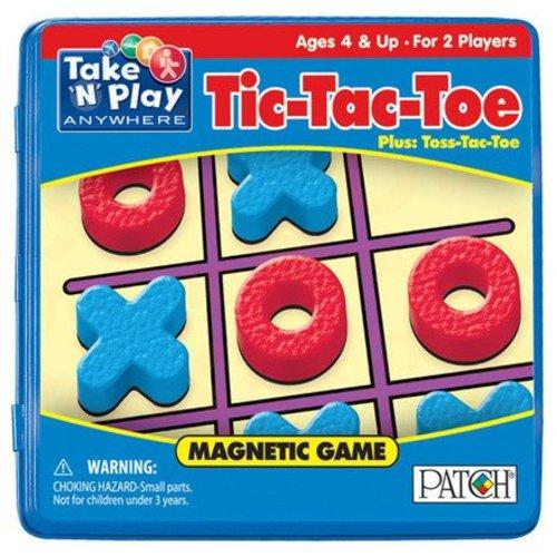 Magnetic Tic-Tac-Toe