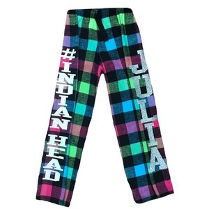Flannel Pants with Glitter