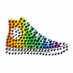 Rainbow Sneaker StickerBean