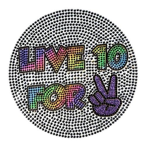 Live 10 4 2 Wall StickerBean