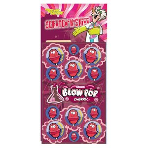 Blow Pop Cherry Stink Factory Stickers