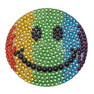 Rainbow Smiley StickerBean