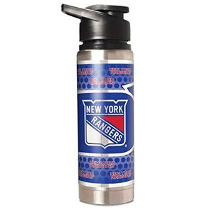 NY Rangers Steel Water Bottle